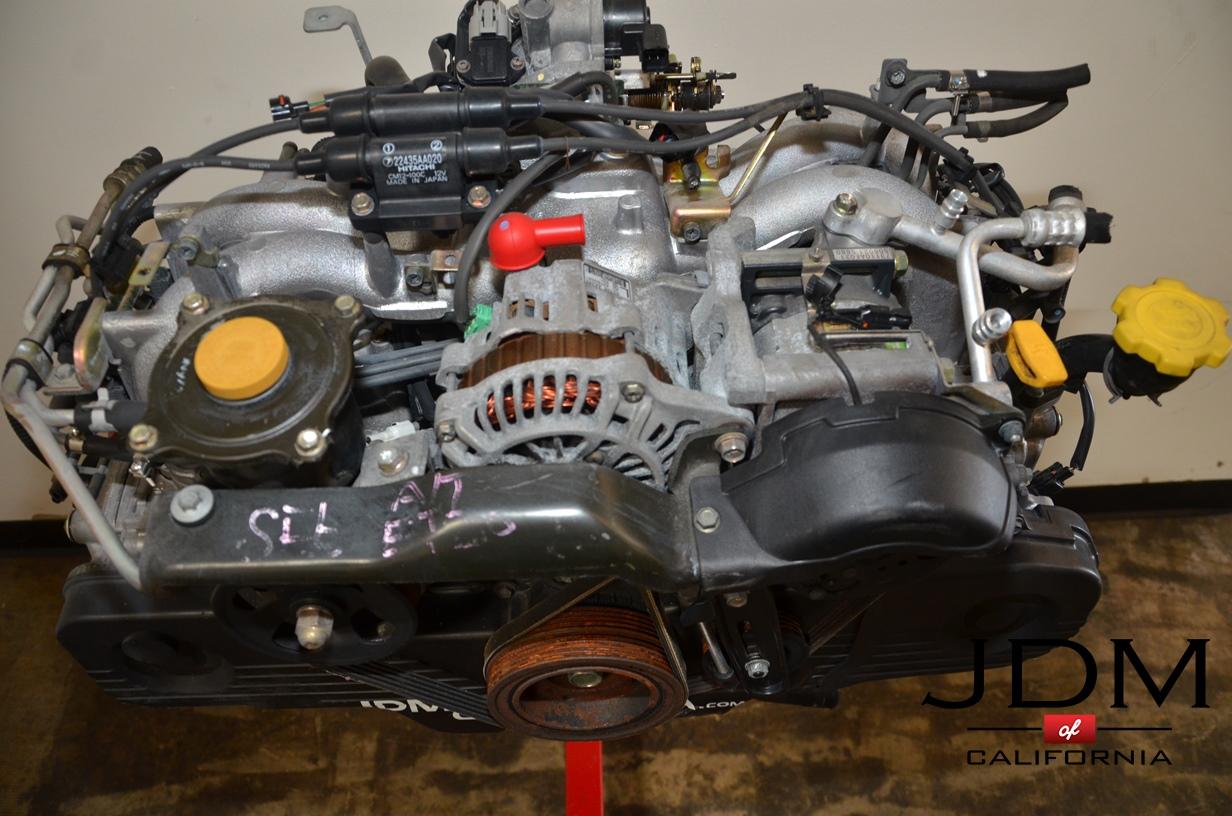 Jdm Subaru Ej20 Non Turbo Sohc Engine 99 04 Jdm Of