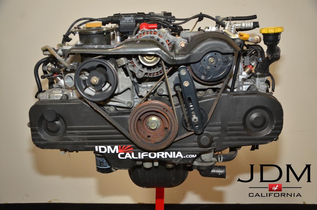Subaru Boxer Engine >> JDM SUBARU EJ20 NON TURBO SOHC ENGINE 99 – 04 | JDM of California