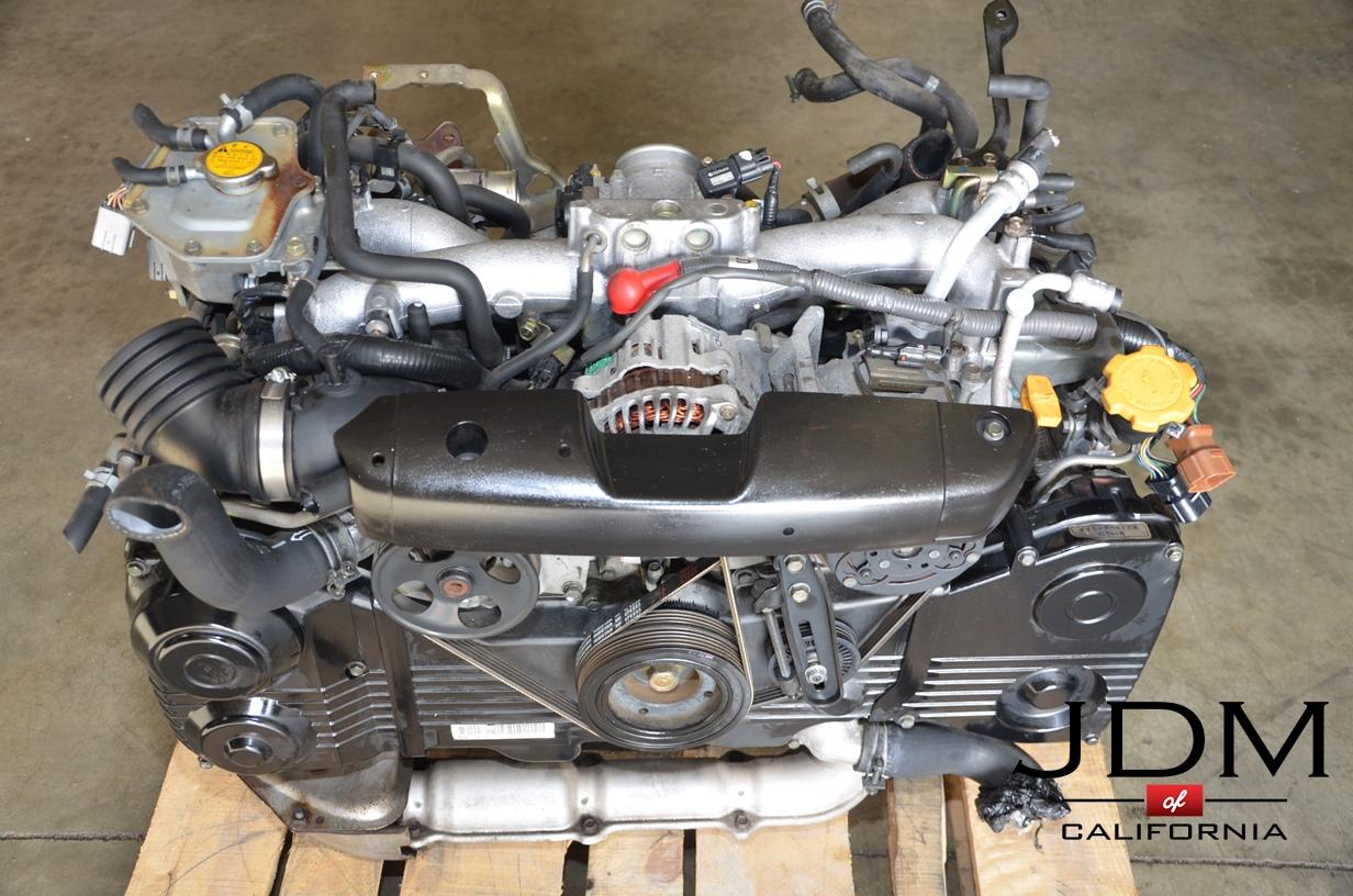 Jdm Ej205 Subaru Wrx 2002 2005 Ej20 Dohc Turbo Engine Avcs