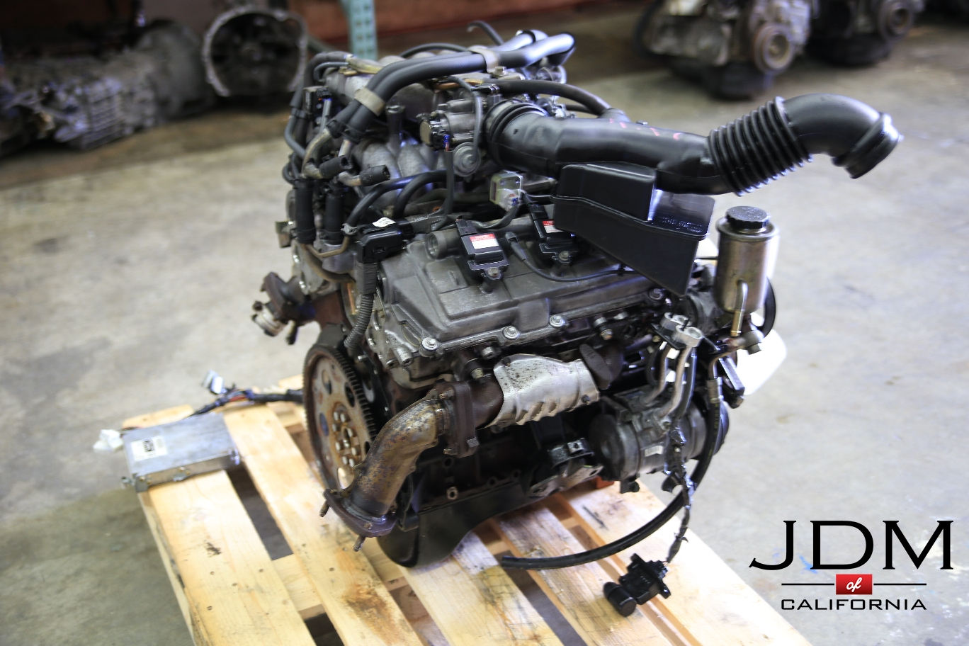 Img on 1995 Toyota 4runner Engine
