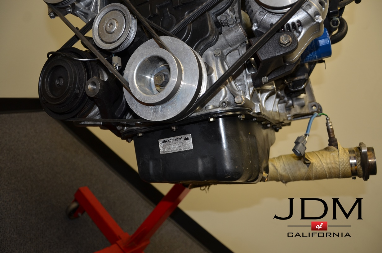 JDM Honda Integra B18C Type R 96-97 Engine Only   JDM of California