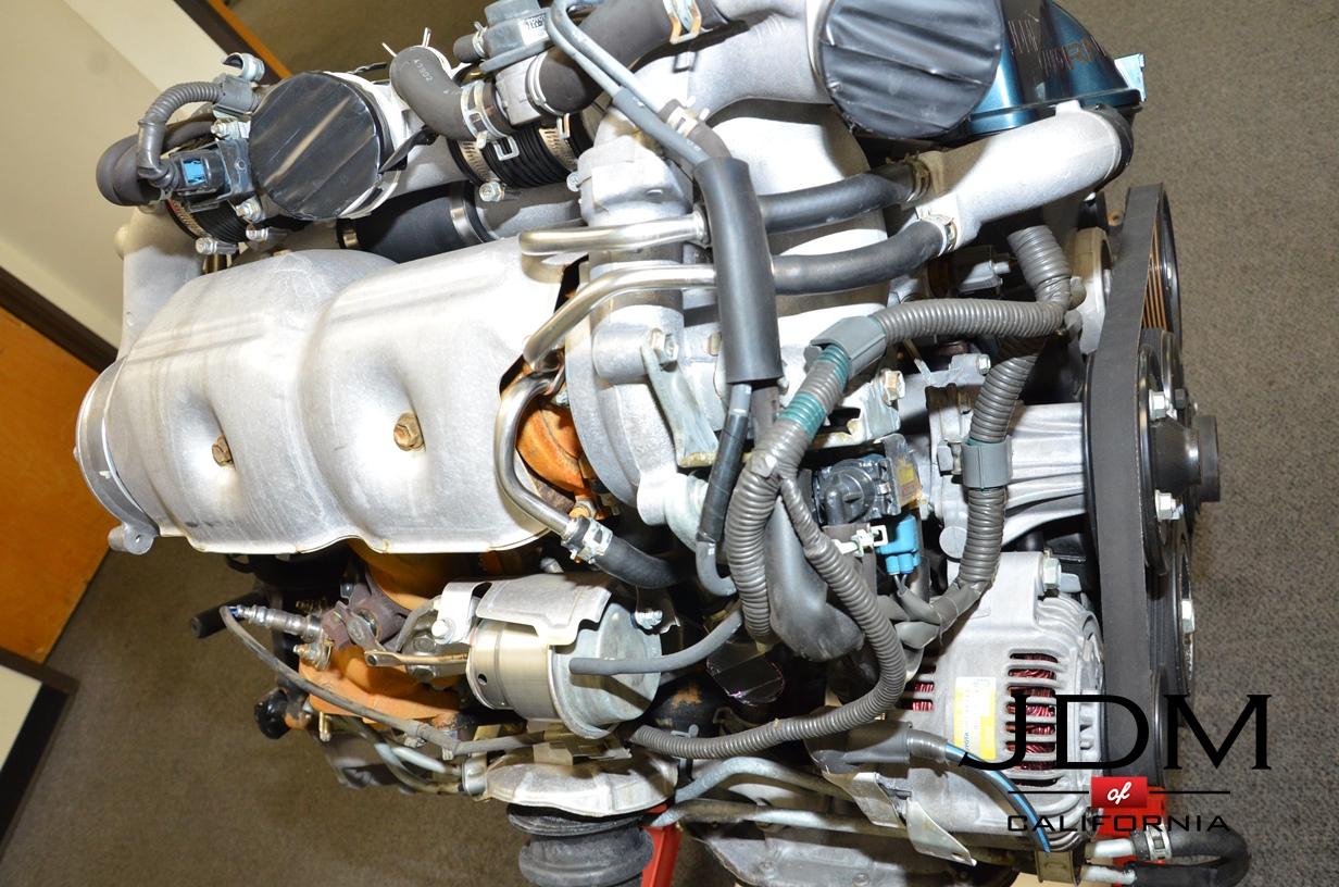 Jdm Toyota 2jzgte Vvt I Twin Turbo Engine 2jz Wiring Harness Auto Previous Next