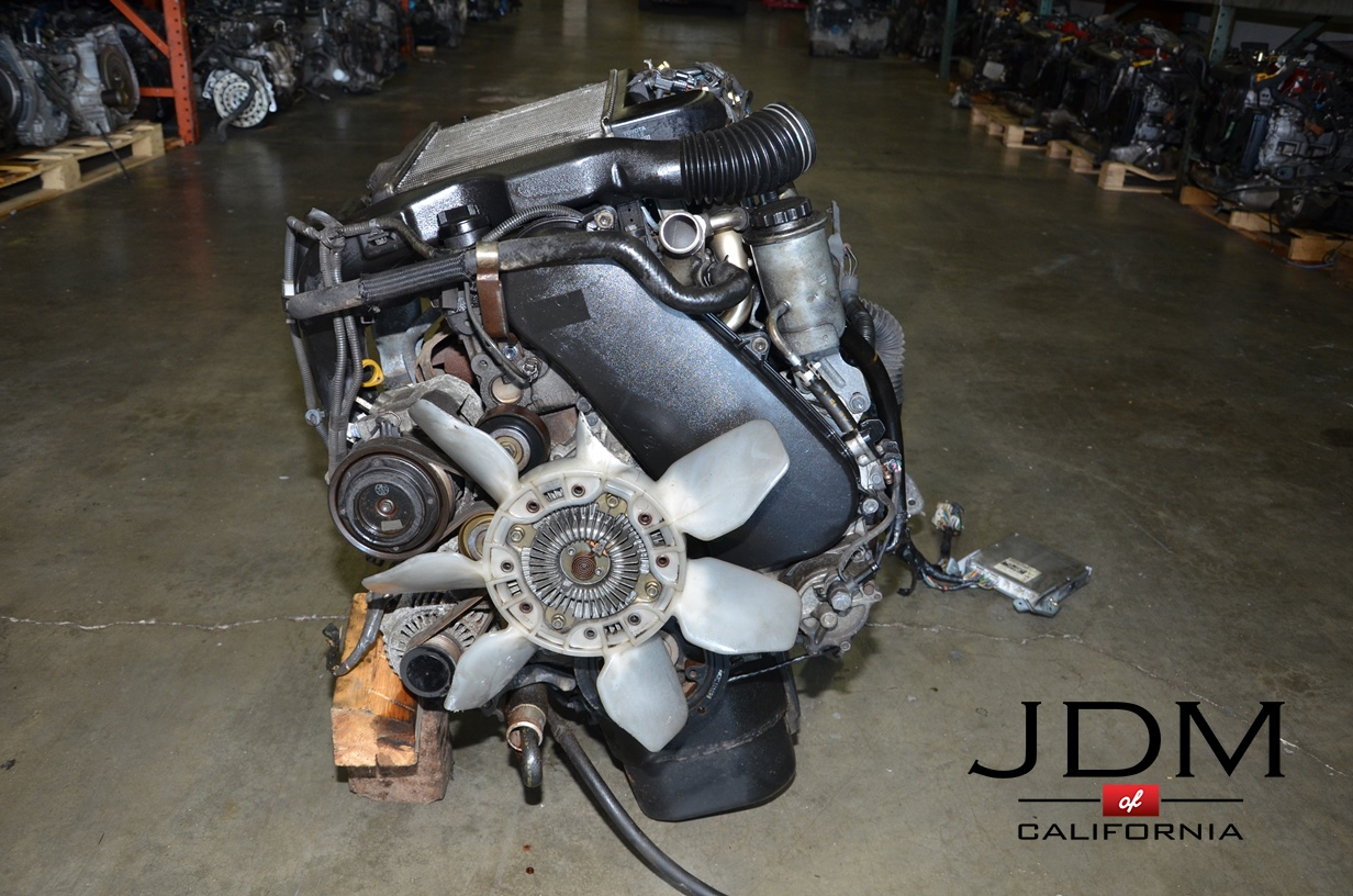 JDM Toyota 1KD-FTV Diesel Turbo Engine with Automatic Transmission ECU |  JDM of California
