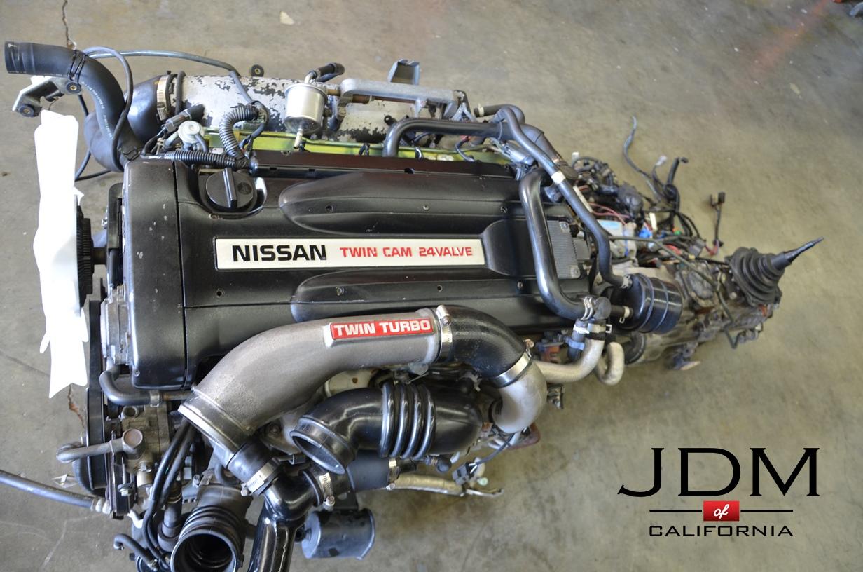 Jdm Nissan Skyline R32 Gt R Rb26dett Engine Only Of California Rb26 Wiring Harness