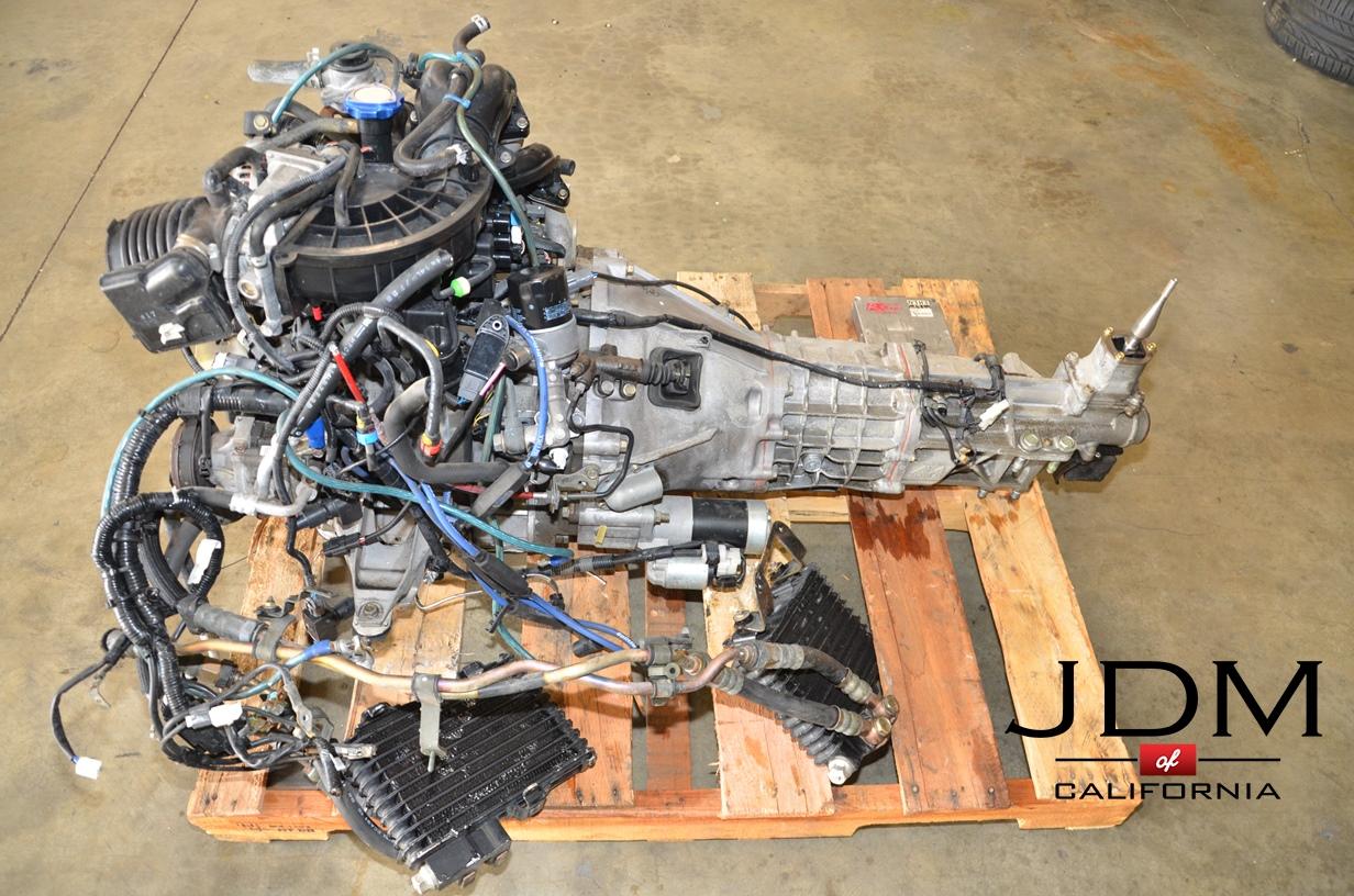 JDM MAZDA RX-8 13B 6 PORT MOTOR WITH 6SPD TRANSMISSION