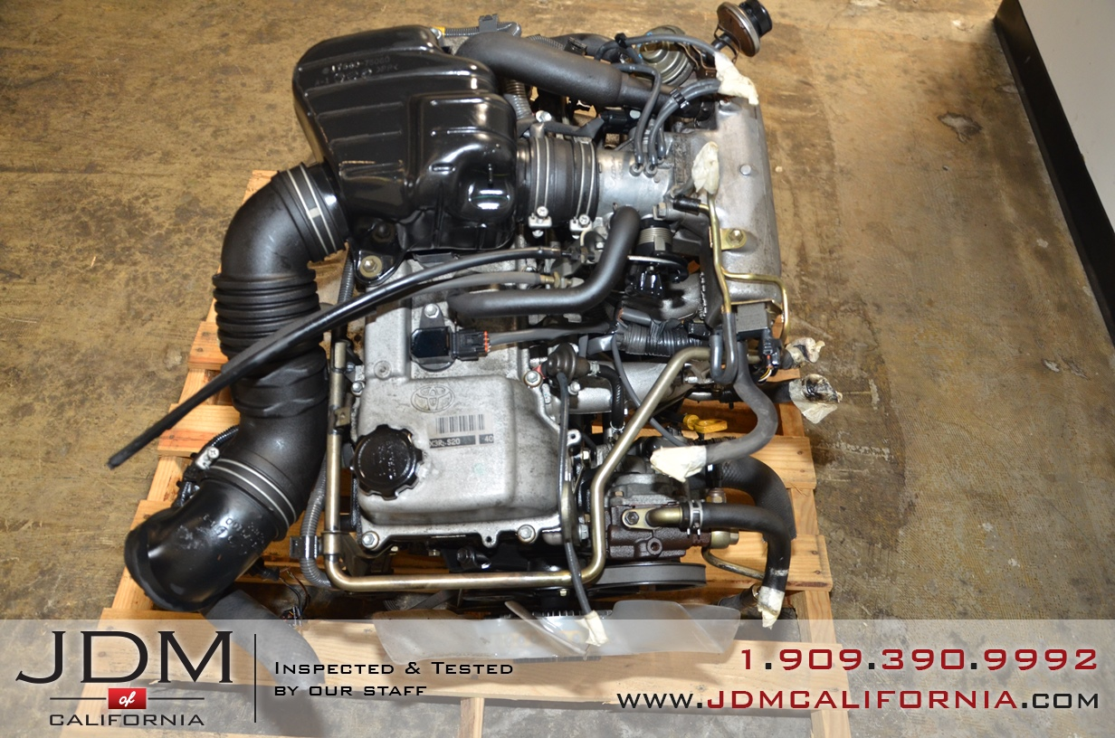 Toyota Tacoma Engine >> Toyota Tacoma 2 7l 3rz Jdm Engine Jdm Of California