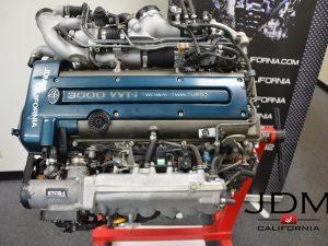 JDM TOYOTA 2JZGTE VVT-i Twin Turbo Engine