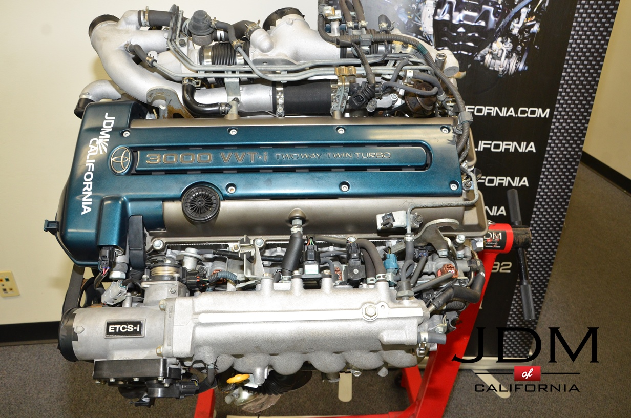 JDM TOYOTA 2JZGTE VVT-i Twin Turbo Engine