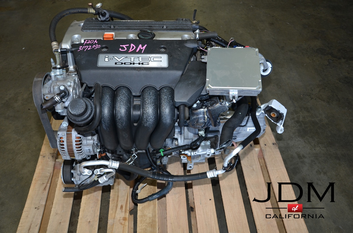 Engine And Transmission >> Jdm K20a Engine With Manual Transmission