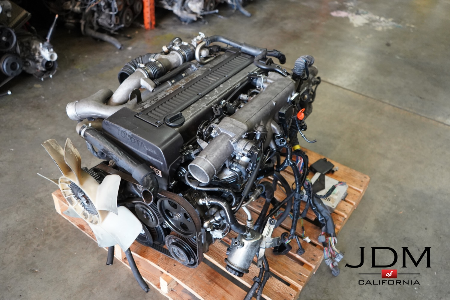 JDM 1JZ-GTE NON VVTi REAR SUMP WITH AUTOMATIC TRANSMISSION